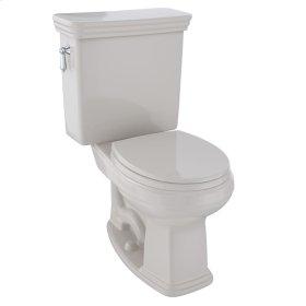 Eco Promenade® Two-Piece Toilet, 1.28 GPF, Round Bowl - Sedona Beige