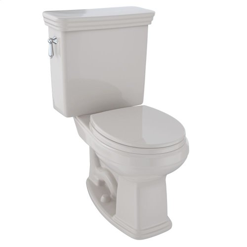 Eco Promenade® Two-Piece Toilet, 1.28 GPF, Round Bowl - Sedona Beige