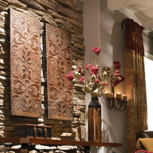 Alexia Wood Wall Panels, S/2