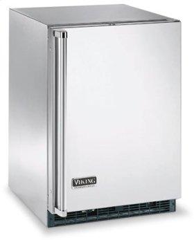 "Stainless Steel 24"" Beverage Center - VUAR (Solid Door (right hinge))"
