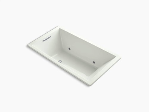 """Dune 66"""" X 36"""" Drop-in Vibracoustic Bath With Bask Heated Surface and Chromatherapy"""