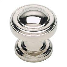 Bronte Knob 1 1/8 Inch - Polished Nickel