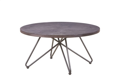 "Derek Round End Table 24""x24""x24"" (30mm thickness)"