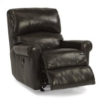 Markham Leather Power Rocking Recliner