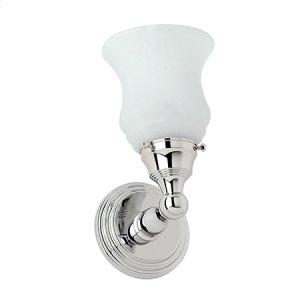 Polished Brass Single Light