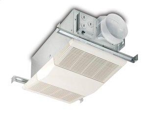 Heater/Fan, 1300W Heater, 70 CFM; Ventilation Fans Product Image