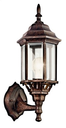 "Chesapeake 17"" 1 Light Wall Light Tannery Bronze"