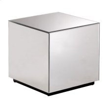 Cubo Mirror Side Table