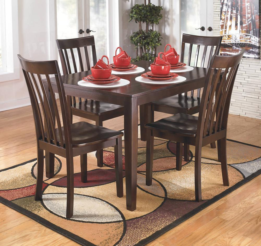 Marvelous D258225 In By Ashley Furniture In Kirksville, MO   RECT DRM Table Set (5/CN)