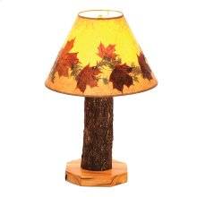 Table Lamp - Natural Hickory
