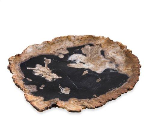 Zada Petrified Wood Charger