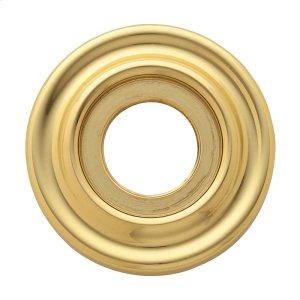 Lifetime Polished Brass 5002 Estate Rose Product Image