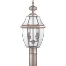 Newbury Outdoor Lantern in Pewter
