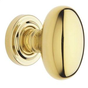 Lifetime Polished Brass 5025 Estate Knob Product Image