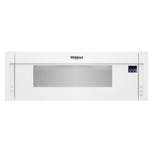 1.1 cu. ft. Low Profile Microwave Hood Combination - WHITE