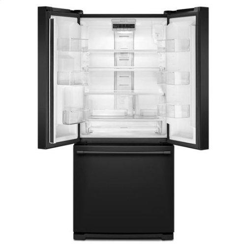 Maytag® 30-Inch Wide French Door Refrigerator - 20 Cu. Ft. - Black