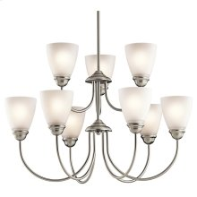 Jolie Collection Jolie 9 Light Chandelier - Brushed Nickel NI
