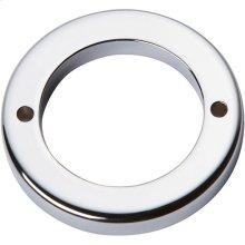 Tableau Round Base 1 13/16 Inch - Polished Chrome