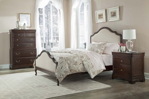 Provence Upholstered Bed