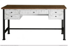 Writing Desk, Reclaimed white finish