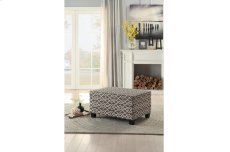 Lift-Top Storage Cocktail Ottoman, Brown Product Image