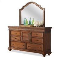 Windward Bay Door Dresser Warm Rum finish Product Image