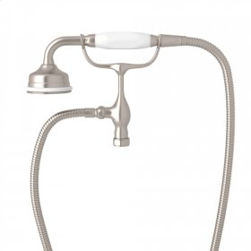 Satin Nickel Perrin & Rowe Edwardian Handshower/Cradle
