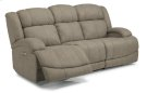 Declan Fabric Power Reclining Sofa with Power Headrests Product Image