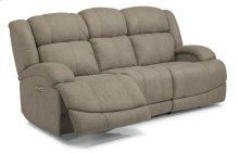 Declan Fabric Power Reclining Sofa with Power Headrests