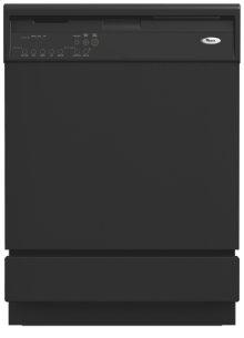Black Built-In Large Capacity Dishwasher