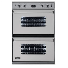 """Metallic Silver 36"""" Double Electric Oven - VEDO (36"""" Double Electric Oven)"""