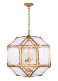 Gordon Collection 4-Light Golden Iron Finish Pendant