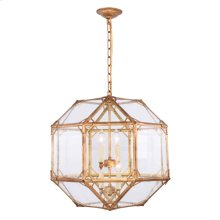 Gordon Collection 4-Light Golden Iron Finish Pendant