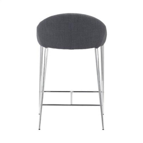 Reykjavik Counter Chair Graphite