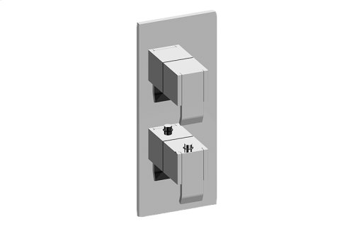 Qubic M-Series Valve Trim with Two Handles