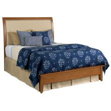 Meridian King Bed Honey - Complete