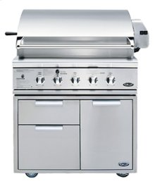 "36"" All Grill for Built-in or On Cart"