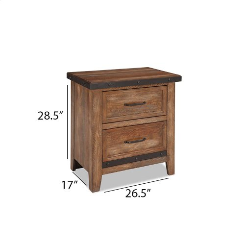 Bedroom - Taos Two Drawer Nightstand