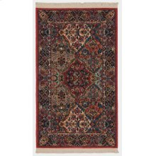 Multicolor Panel Kirman Multi Rectangle 2ft 6in X 4ft 3in