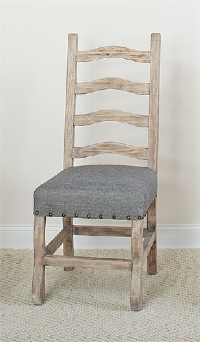 Ladder Back Side Chair 2 Ctn Hidden