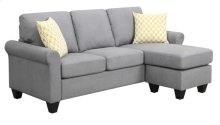 Chofa W/2 Accent Pillows-gray #dtv424-10