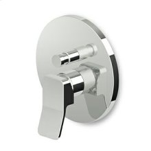Buit-in single lever bath shower mixer with diverter, for Zetasystem (R97800) universal built-in body.