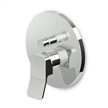 Buit-in single lever bath shower mixer with diverter, for Zetasystem (R97800) universal built-in body.