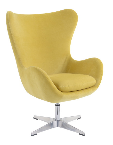 Swivel Chair Gold #hd451 01 W/chrome Pedestal Base