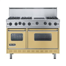 "Golden Mist 48"" Open Burner Range - VGIC (48"" wide, six burners 12"" wide char-grill)"
