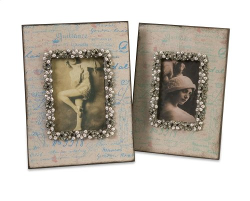 Ooh-La-La Photo Frames - Set of 2