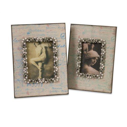 Ooh-La-La Photo Frames - Set of 2