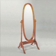Cheval Mirror Oak