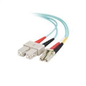 5m Value Series LC SC 10G Duplex PVC Fiber Cable