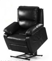 Black Leather Recliner Product Image